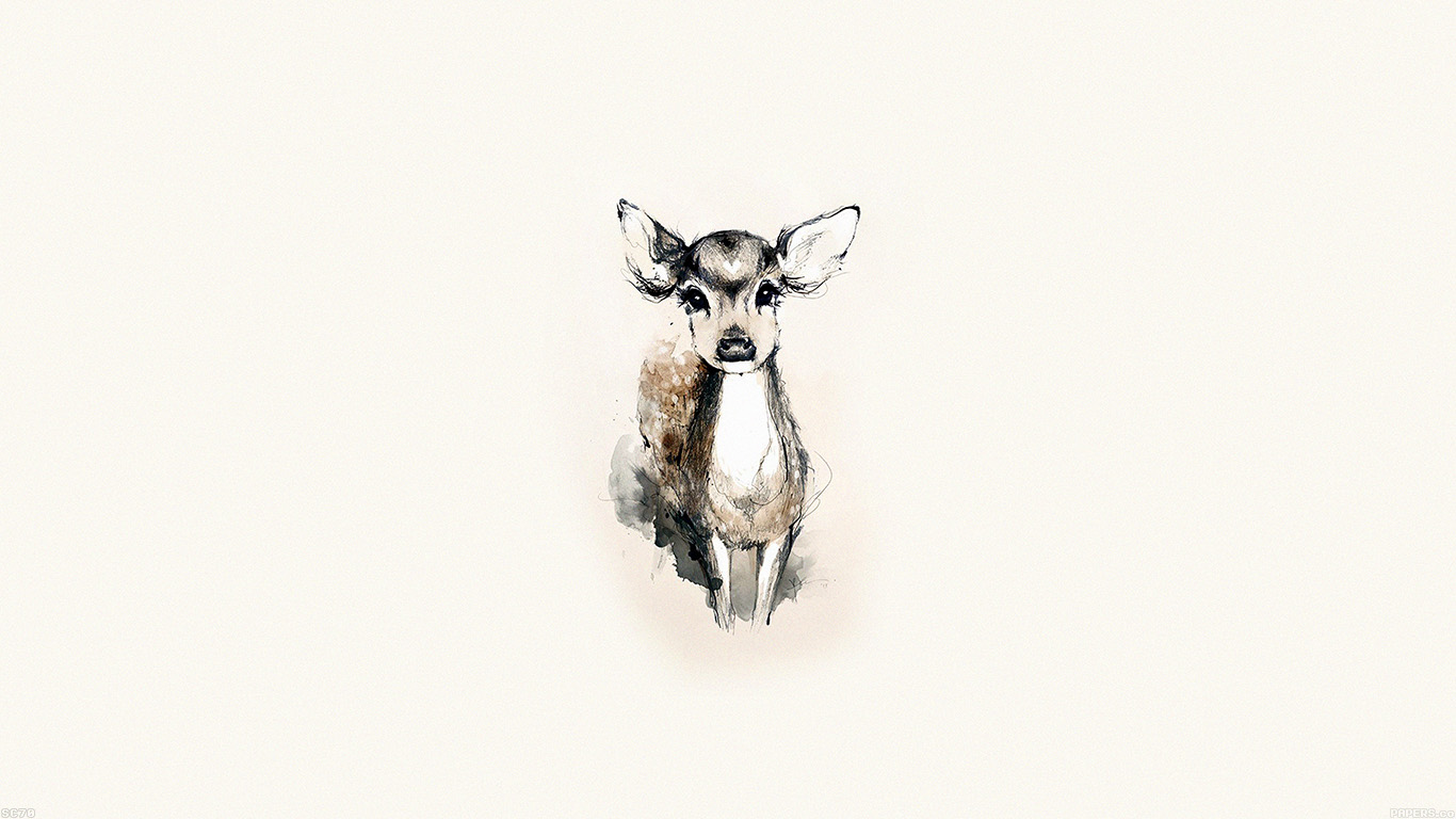 iPapers.co-Apple-iPhone-iPad-Macbook-iMac-wallpaper-ae07-tiny-deer-illust-art-wallpaper