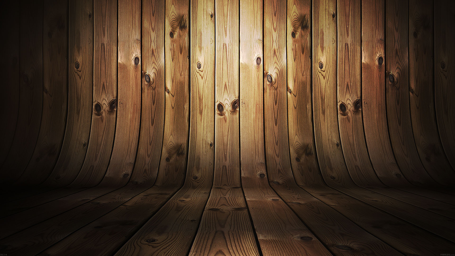 Ae14 Dark Bent Wood Background Wallpaper
