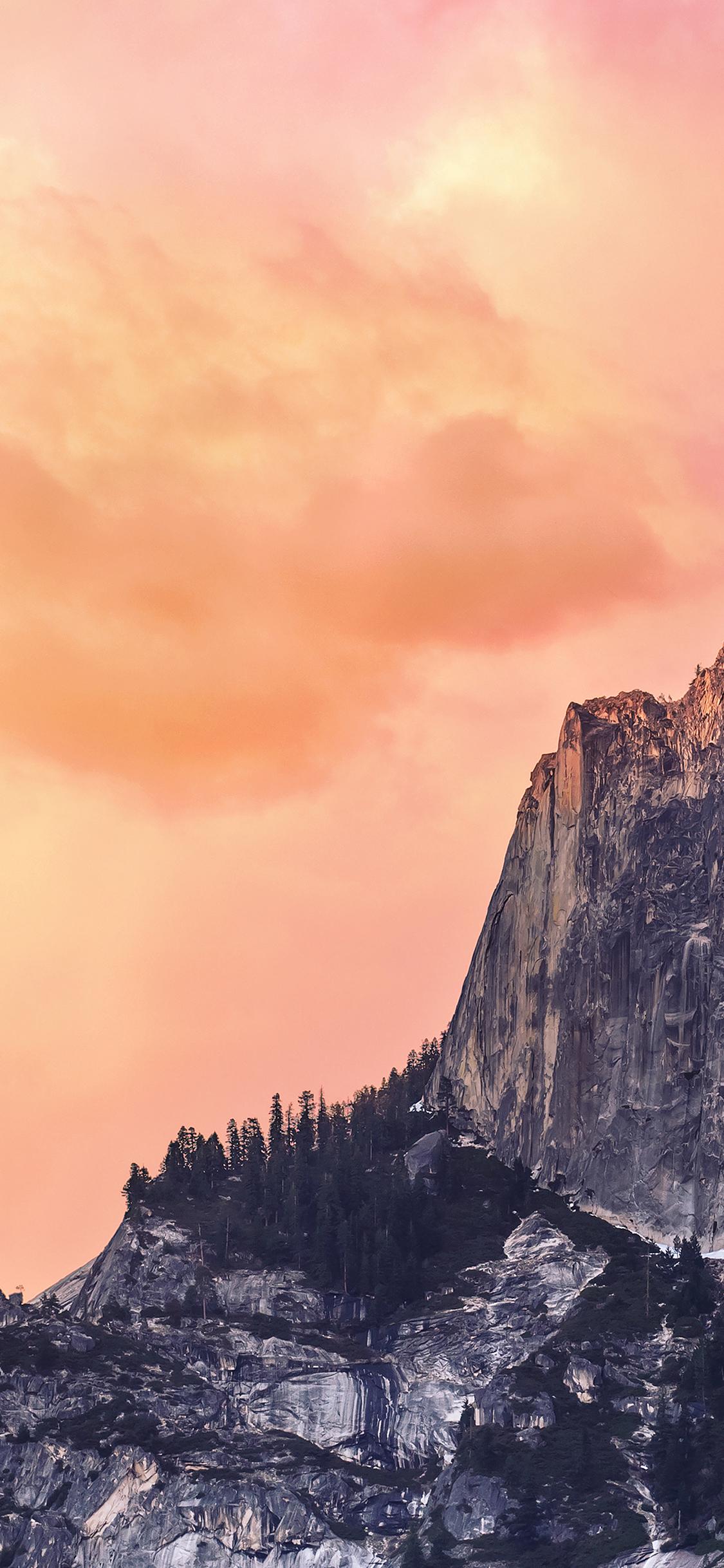 Iphonexpapers Ae31 Yosemite Red Sunset Mac Wallpaper Os X