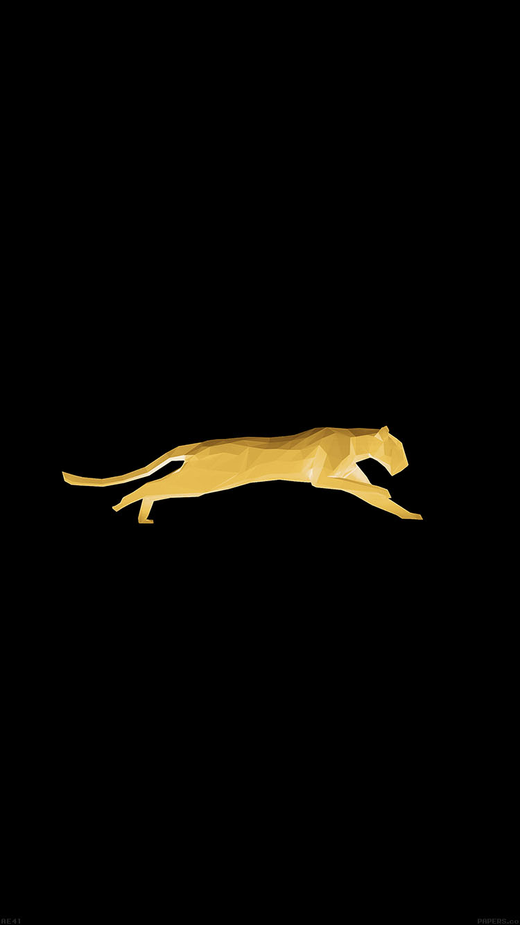 iPhone6papers.co-Apple-iPhone-6-iphone6-plus-wallpaper-ae41-running-puma-gold-illust-art-minimal