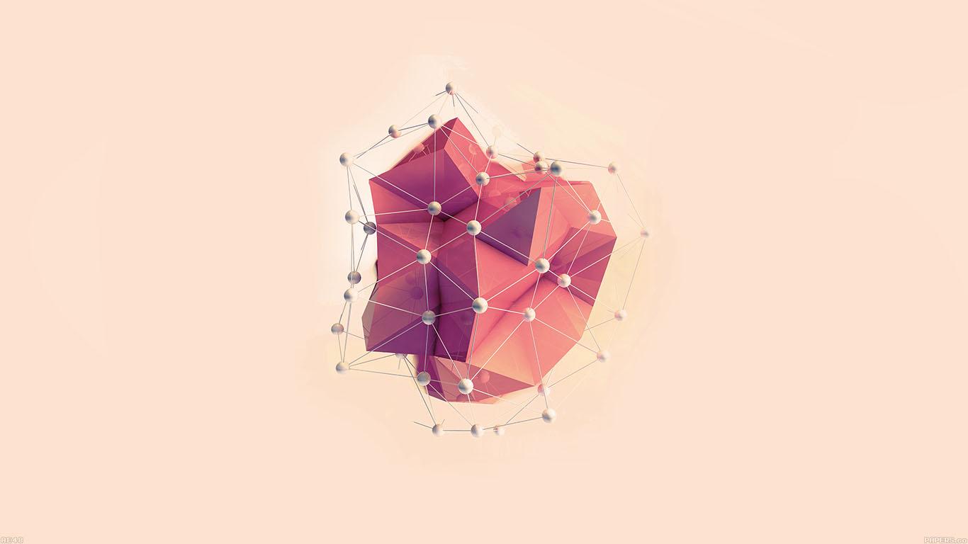 desktop-wallpaper-laptop-mac-macbook-air-ae48-abstract-red-art-multigons-cg-art-illust-wallpaper