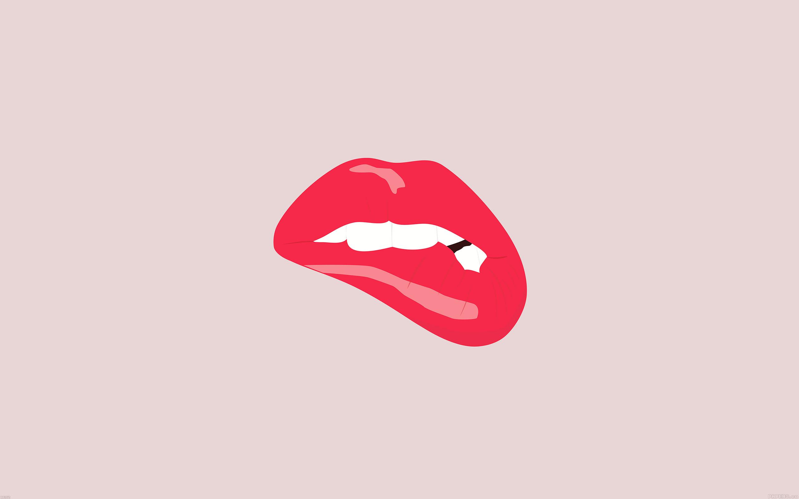 Ae52 biting lips minimal art for Minimal art essay