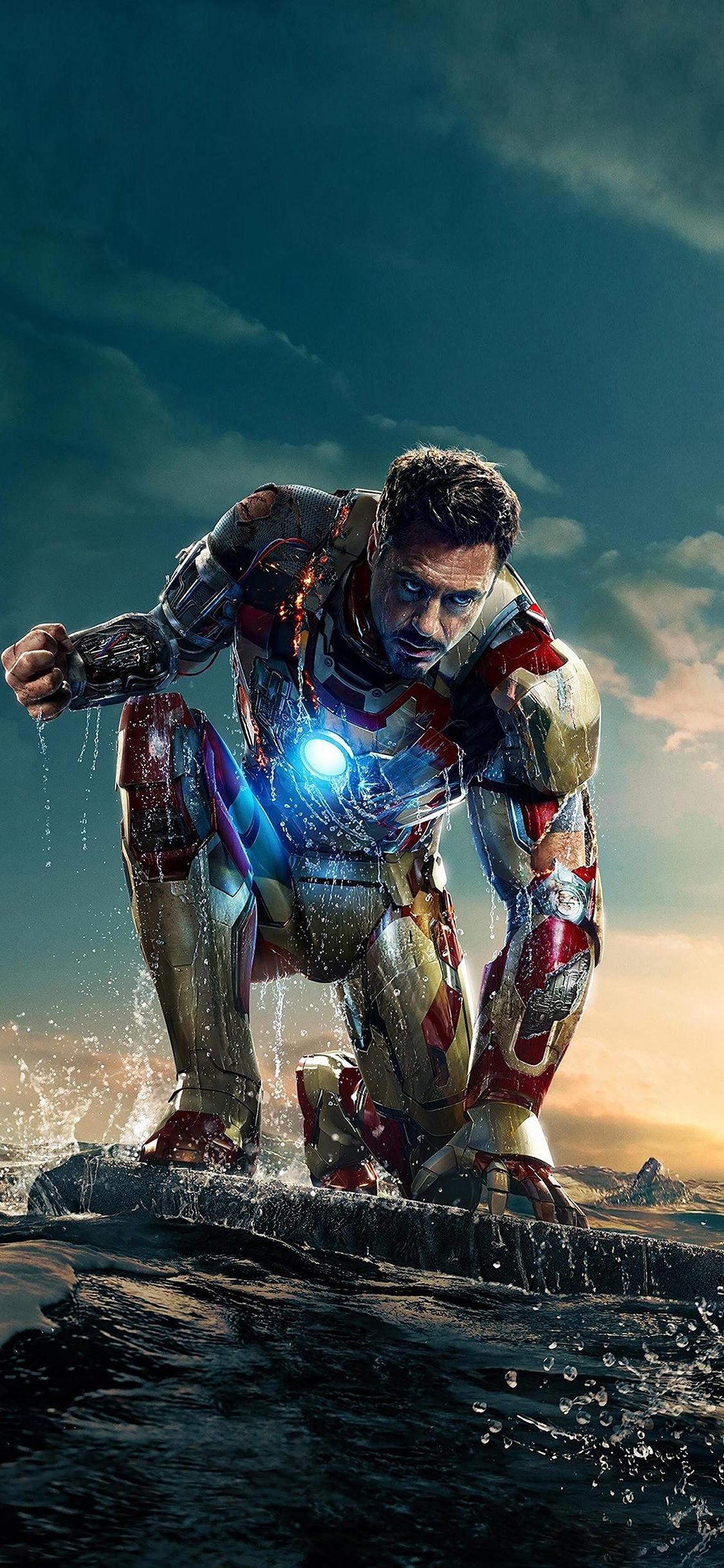 Iphonexpapers Com Iphone X Wallpaper Ae66 Ironman In Hero