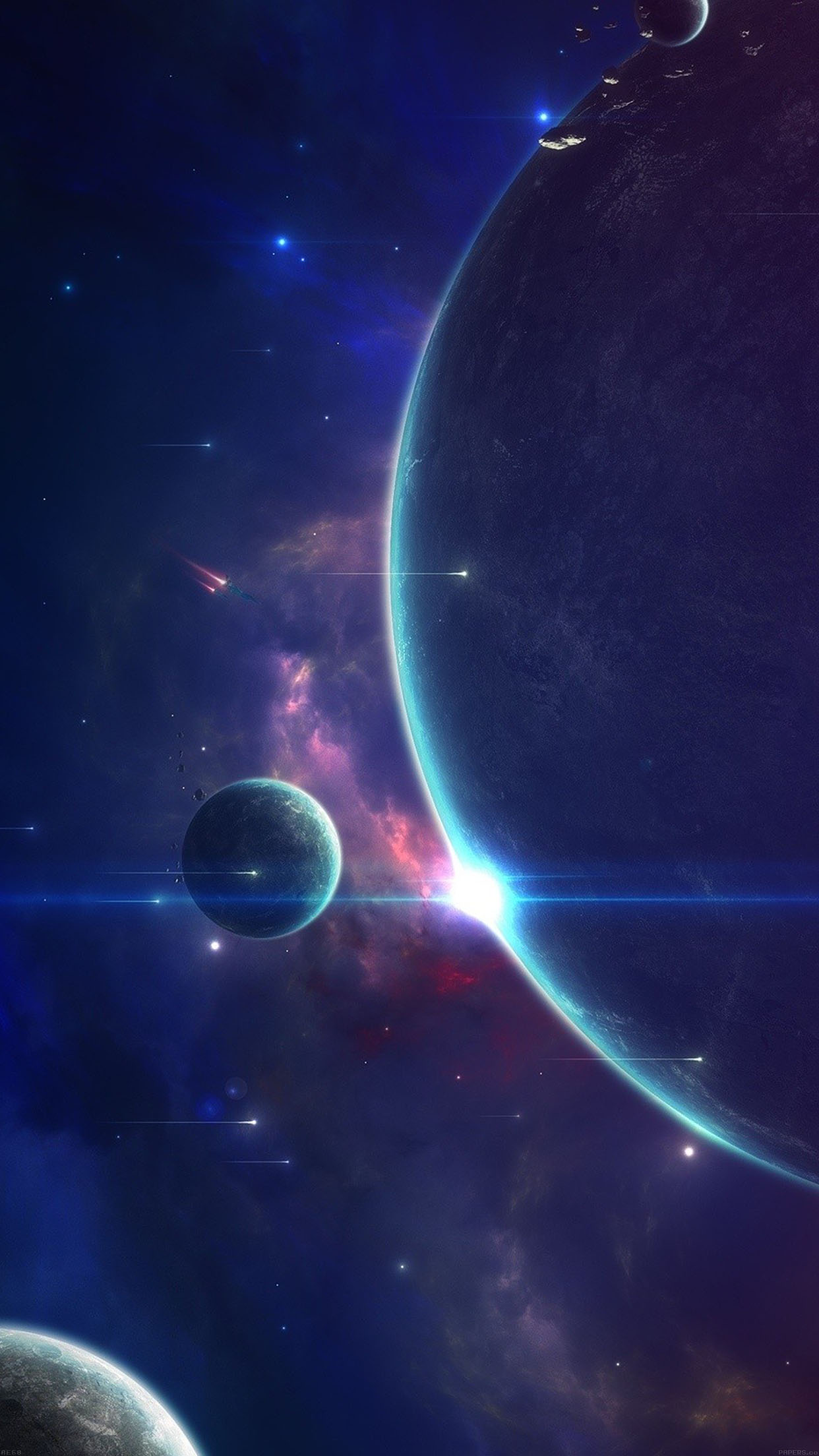 Mysterious Space Wallpaper