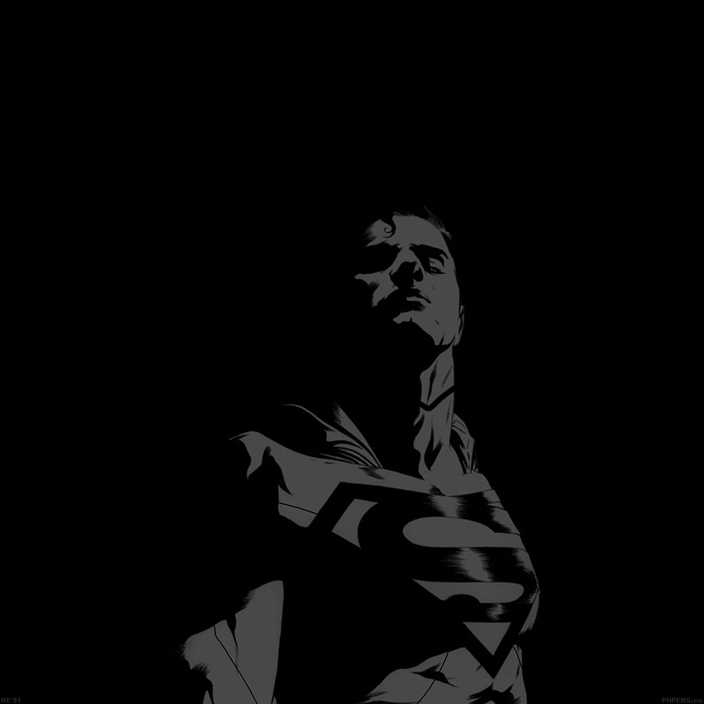 android-wallpaper-ae91-superman-looking-down-on-us-minimal-wallpaper