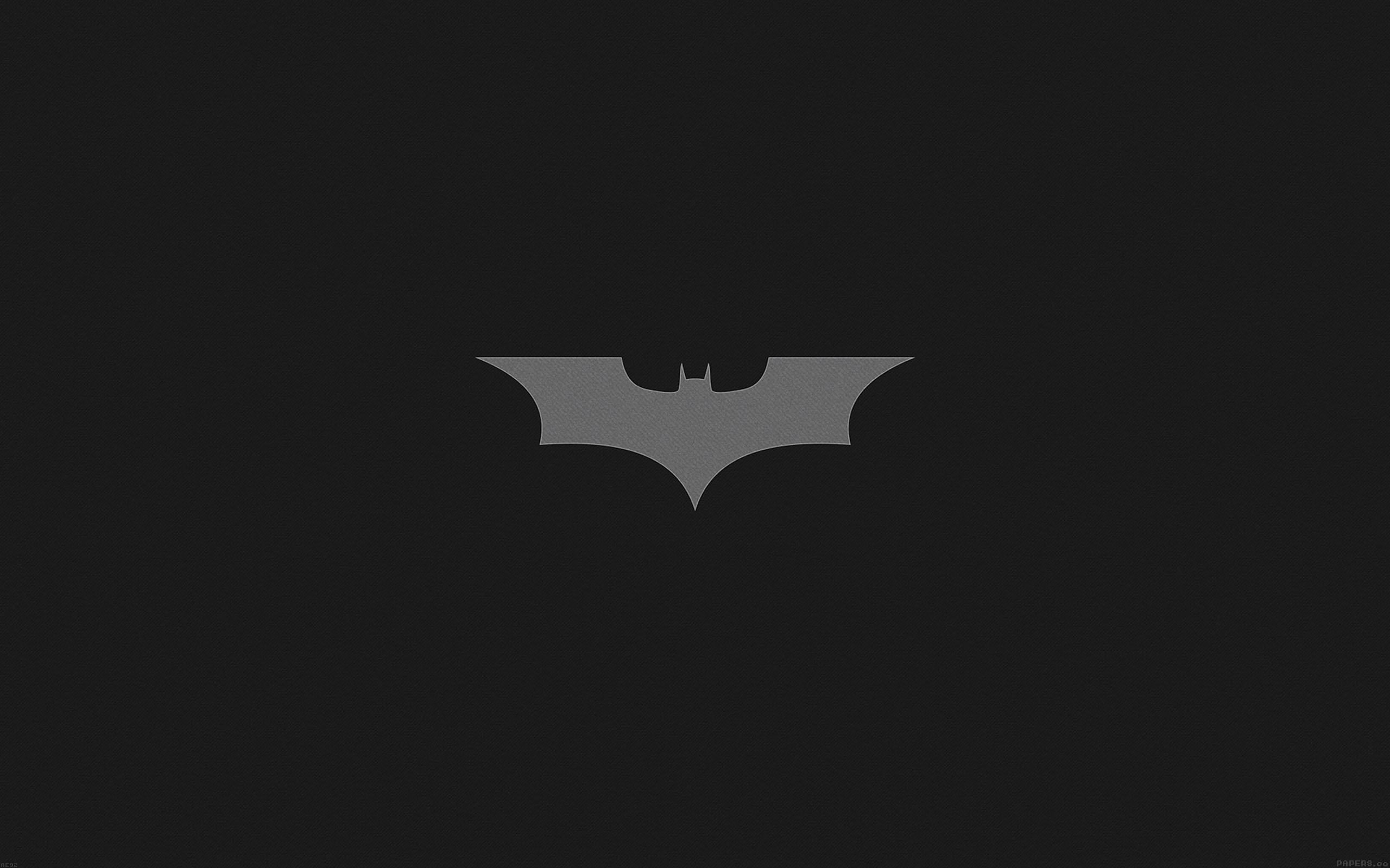 Ae92 Batman Dark Night Logo Simple Minimal Papers Co