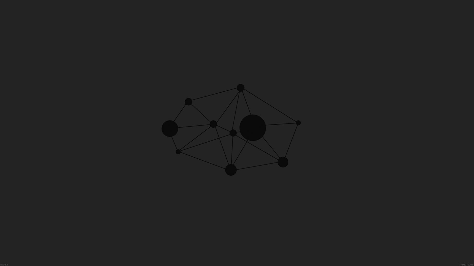 Ae93 polygons minimal geometric art for Minimal art essay