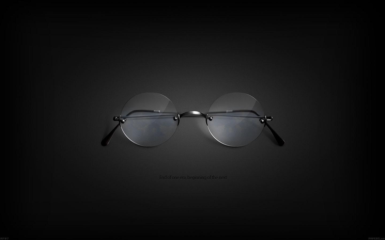 Af07 Steve Jobs Glasses New Era Apple Papersco