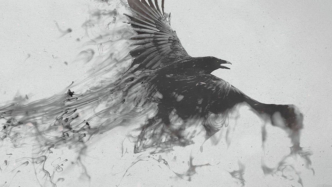 iPapers.co-Apple-iPhone-iPad-Macbook-iMac-wallpaper-af09-black-bird-smoke-art-illust-wallpaper