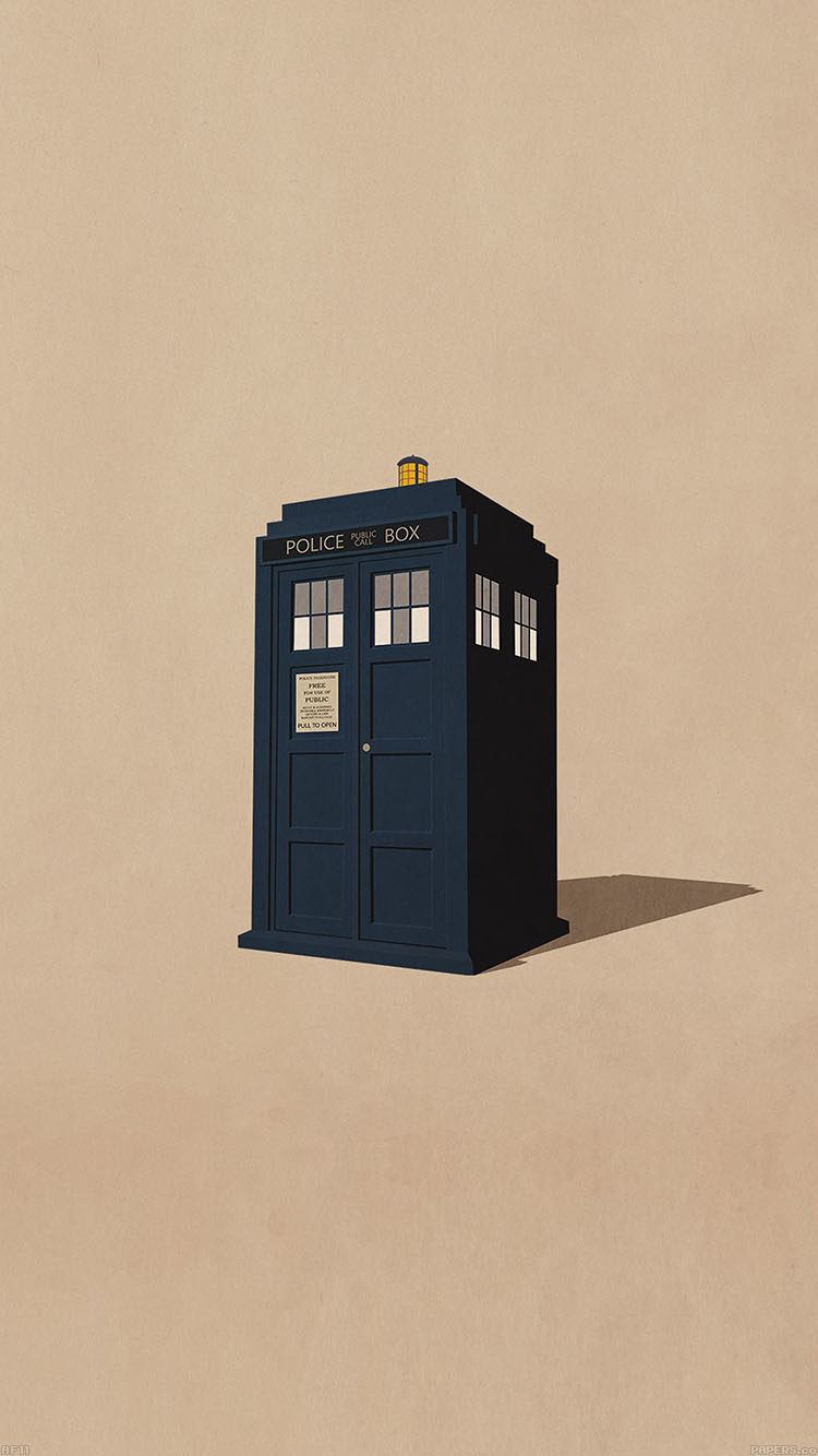 Papers.co-iPhone5-iphone6-plus-wallpaper-af11-police-box-public-illust