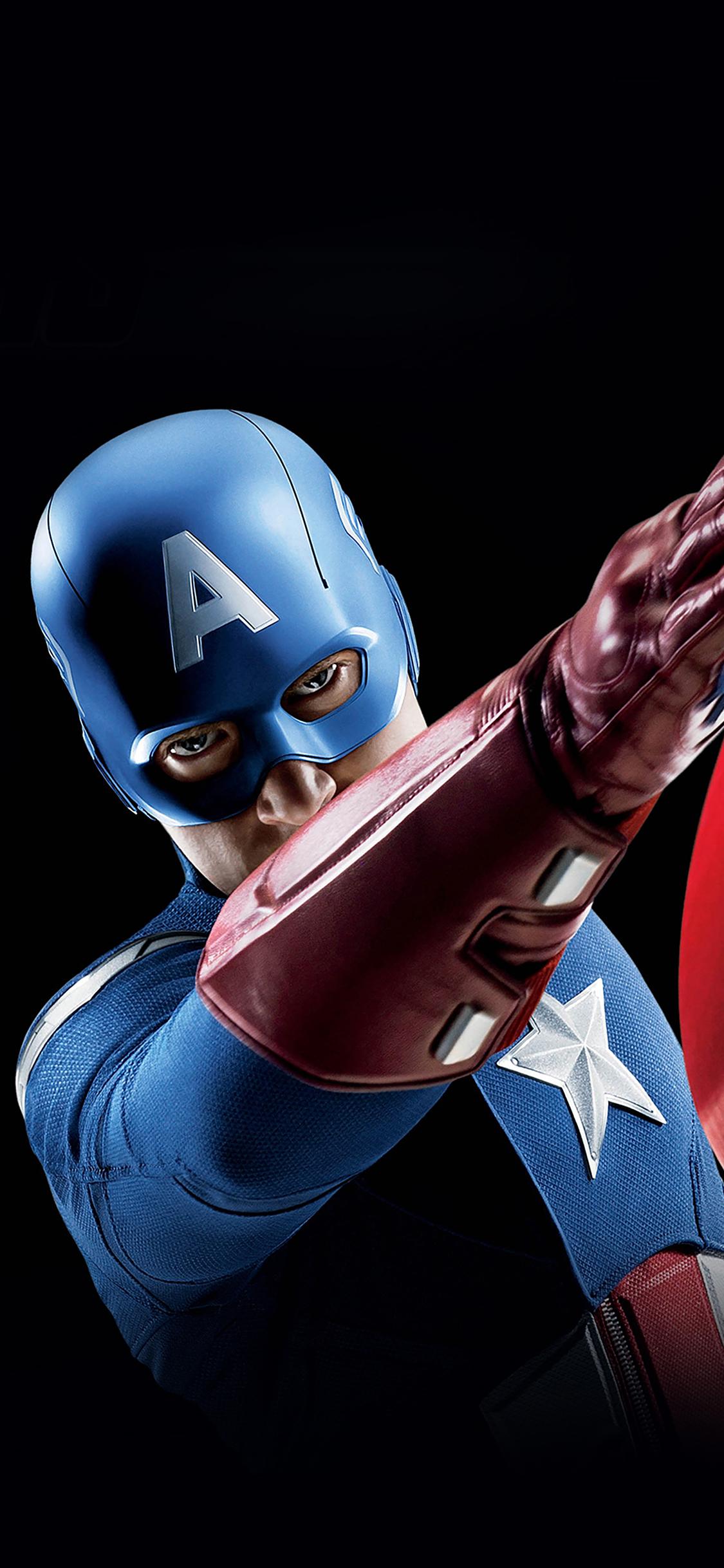 iPhoneXpapers.com-Apple-iPhone-wallpaper-af14-avengers-captain-america-illust-art-portrait