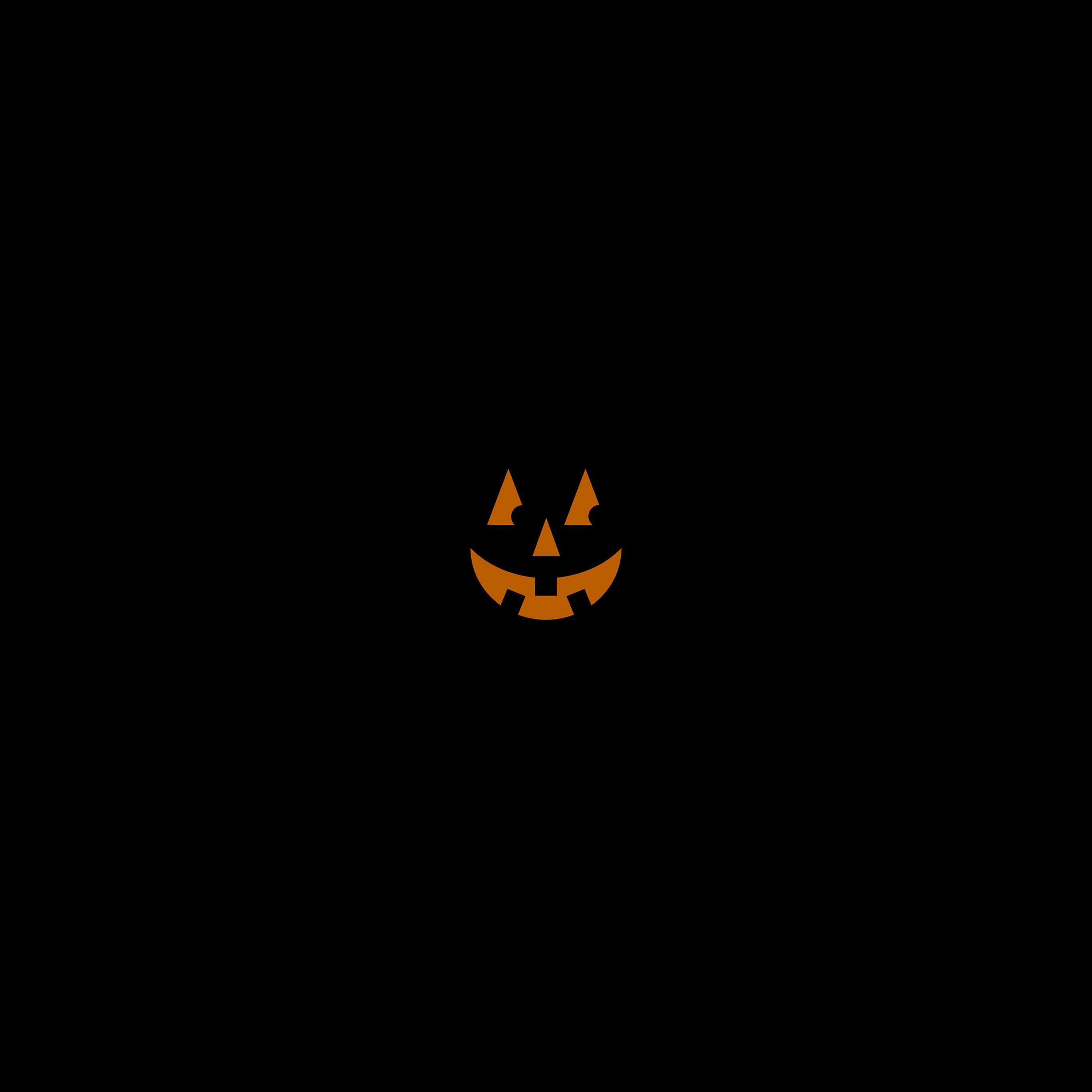 Androidpapers Co Af15 Pumpkin Smile Halloween Minimal
