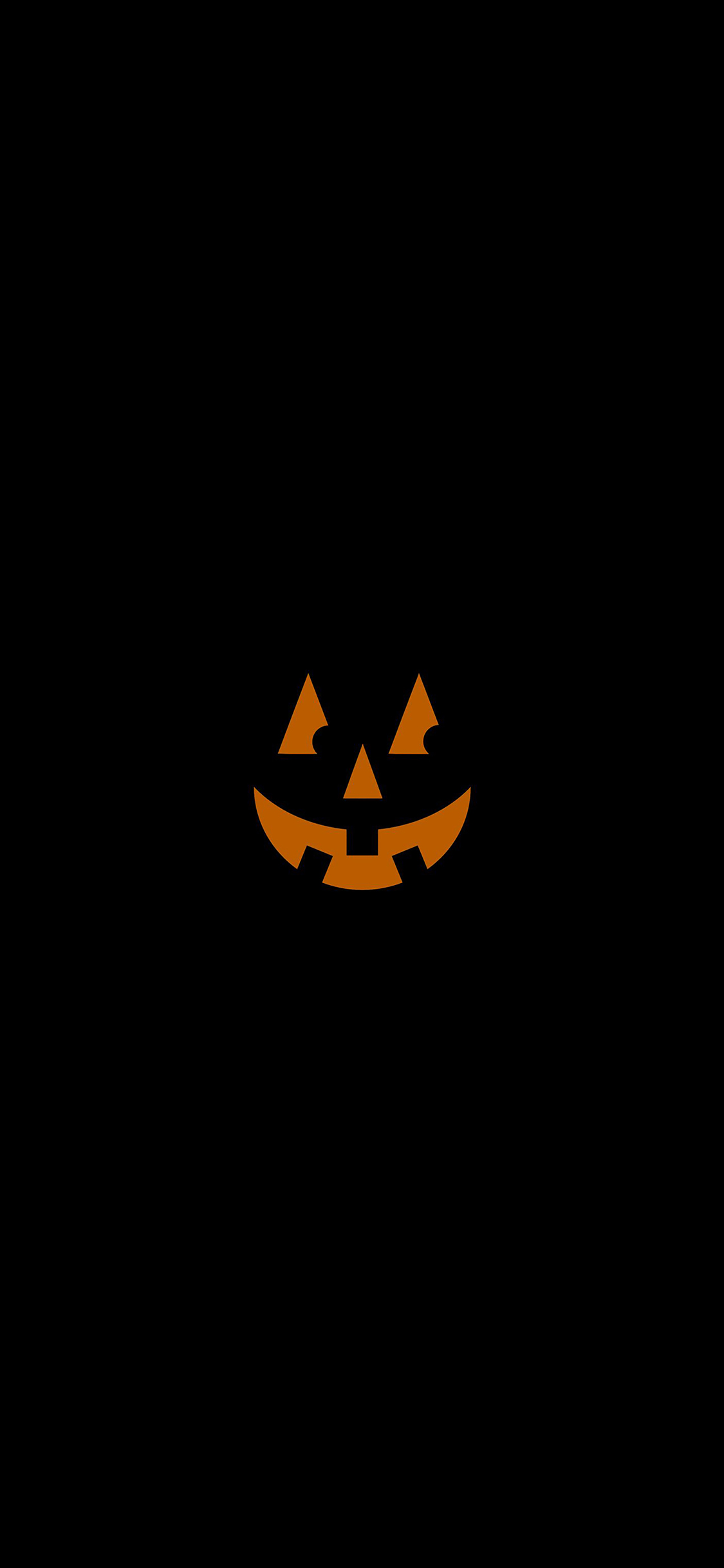 iPhoneXpapers.com-Apple-iPhone-wallpaper-af15-pumpkin-smile-halloween-minimal