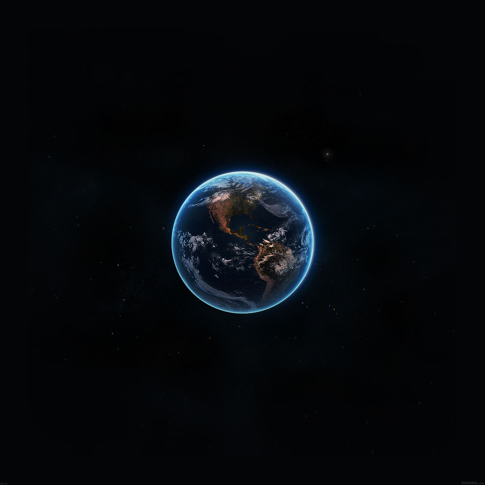 Amazing Iphone Wallpapers: Af19-earth-view-from-space-amazing-satellite