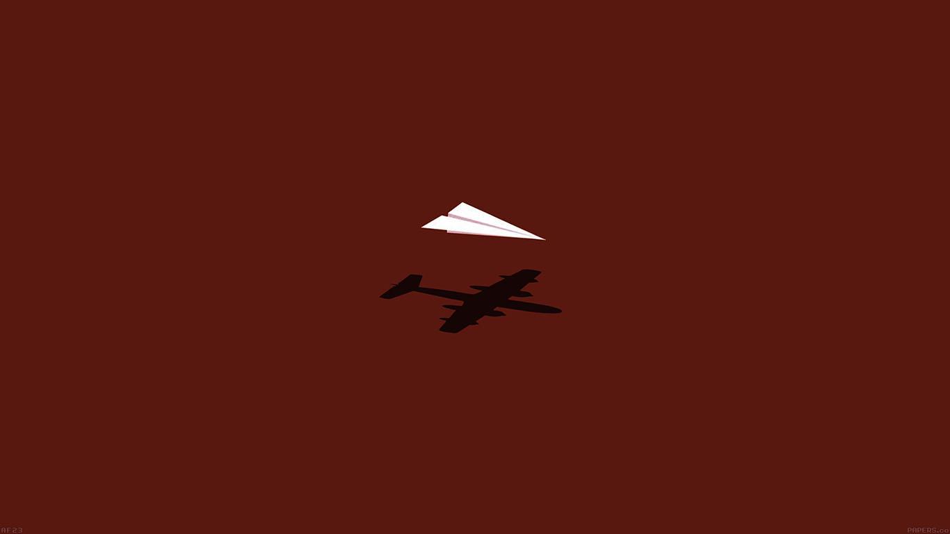 Af23 Rc Plane Minimal Red Art Illust Cute Papers Co