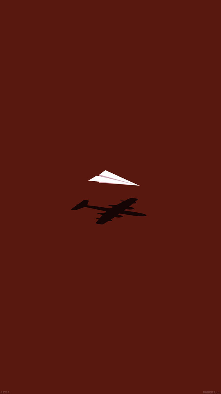 Papers.co-iPhone5-iphone6-plus-wallpaper-af23-rc-plane-minimal-red-art-illust-cute