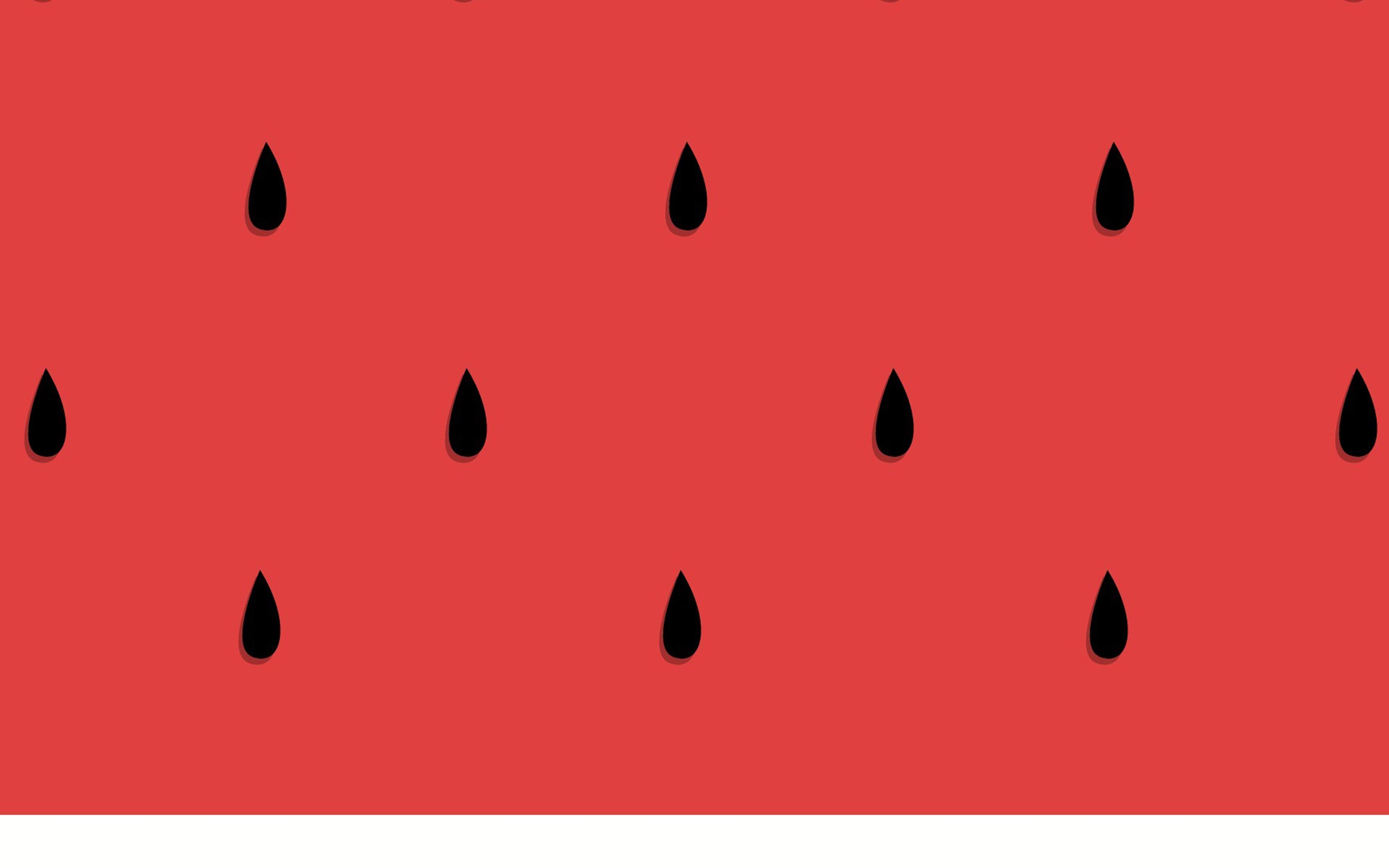 Cute Summer Iphone Wallpapers: Af46-watermelon-minimal-art