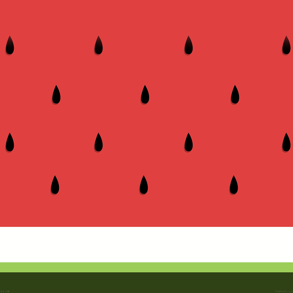 Android wallpaper af46 watermelon minimal art for Minimal art essay