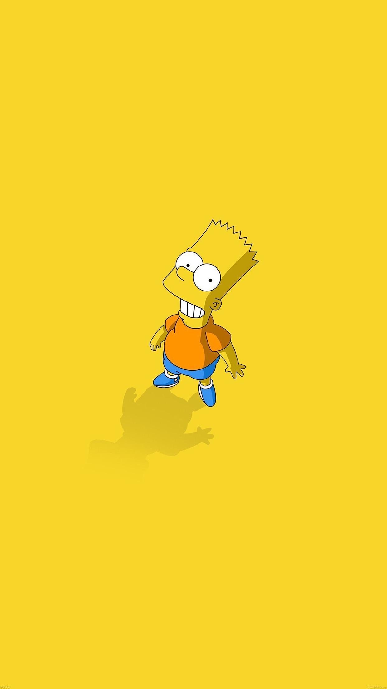 Iphone7papers Af48 Hi I Am Bart Simpsons Minimal Cartoon