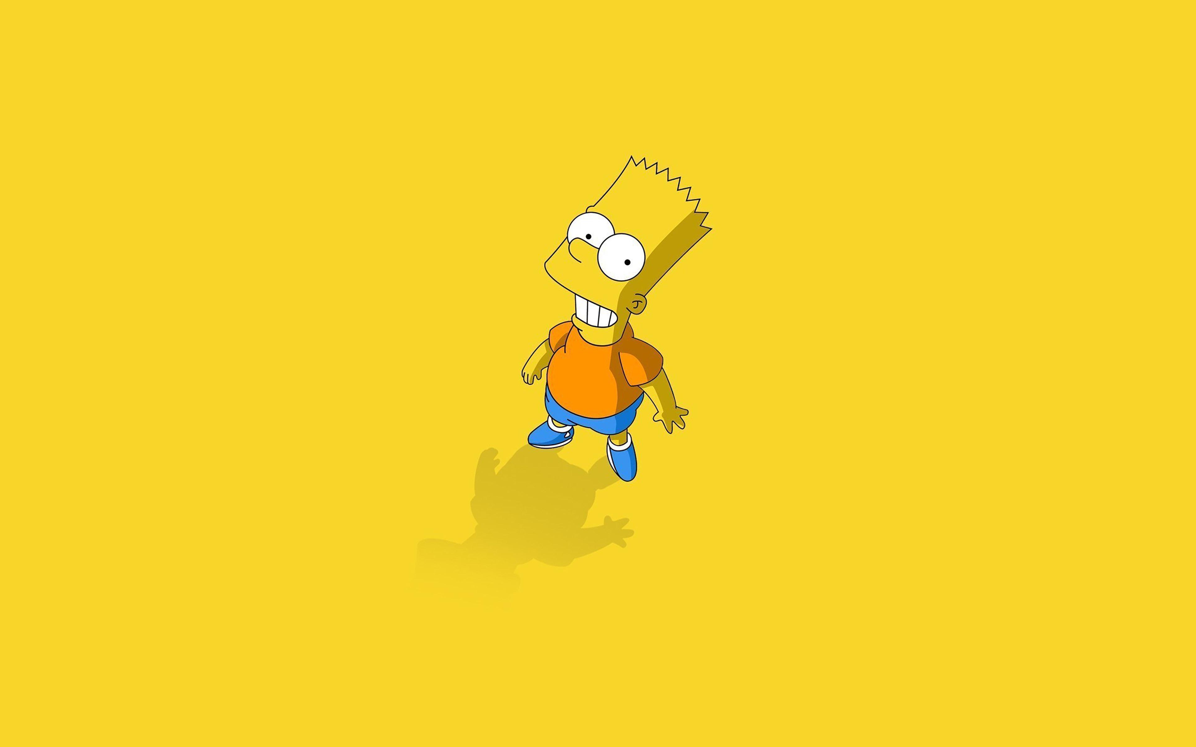 Wallpaper For Desktop Laptop Af48 Hi I Am Bart Simpsons Minimal