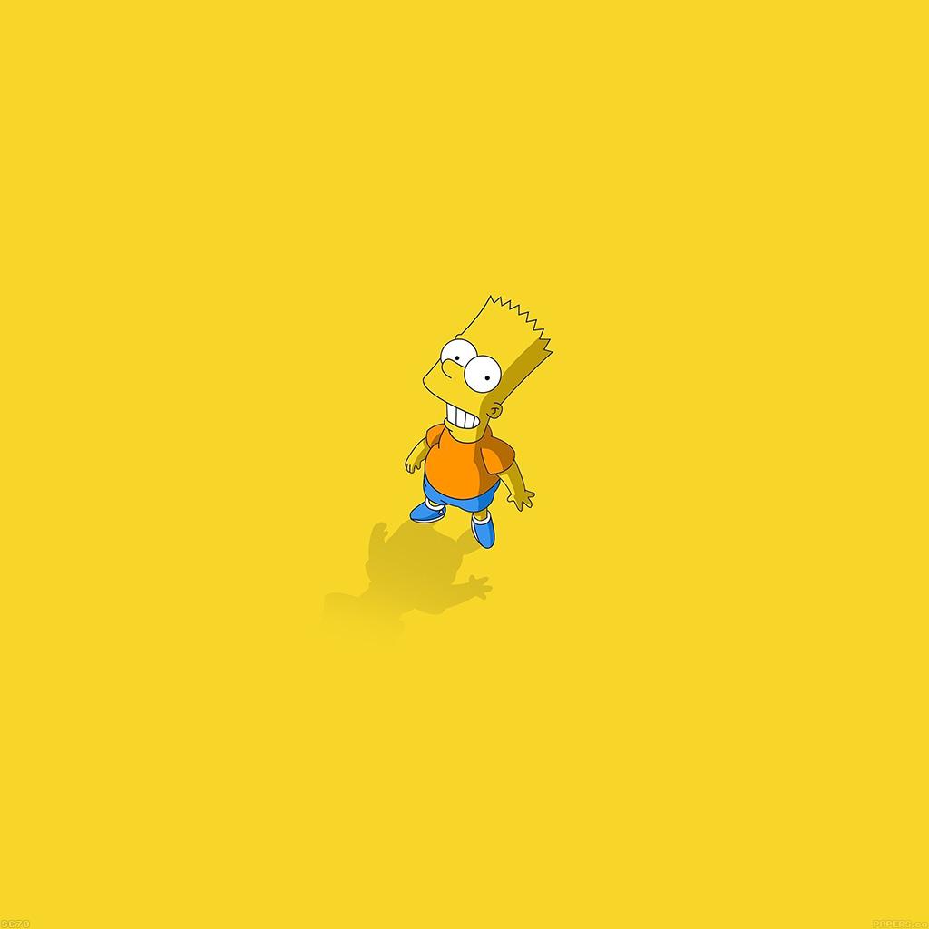 android-wallpaper-af48-hi-i-am-bart-simpsons-minimal-cartoon-wallpaper