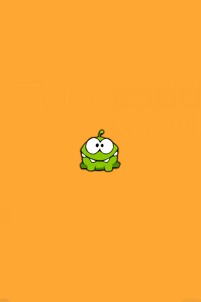 freeios7.com-iphone-4-iphone-5-ios7-wallpaperaf55-game-art-cut-the-rope-om-nom-cute-minimal-iphone4