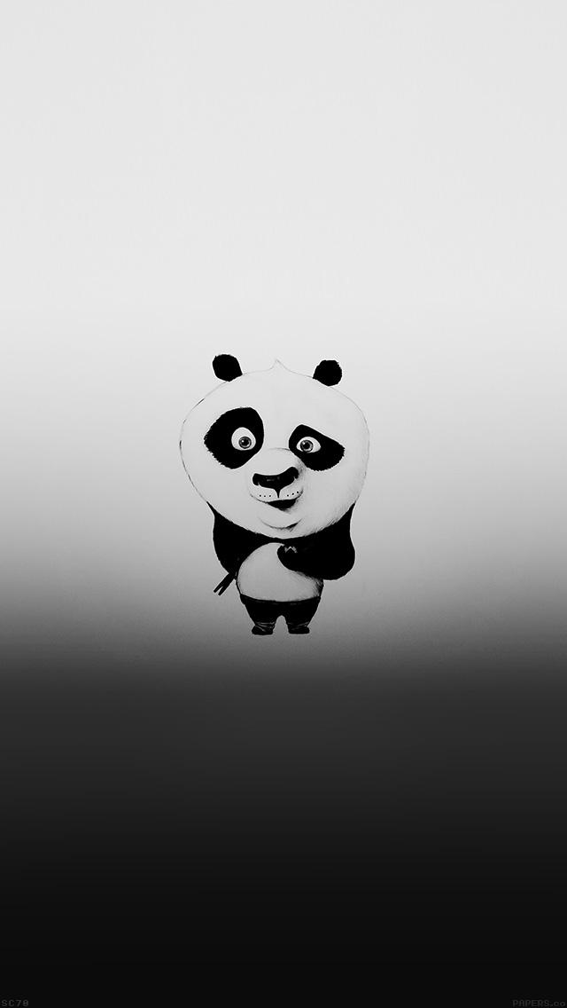 Freeios8 Af59 Kungfu Panda Minimal Funny Cute