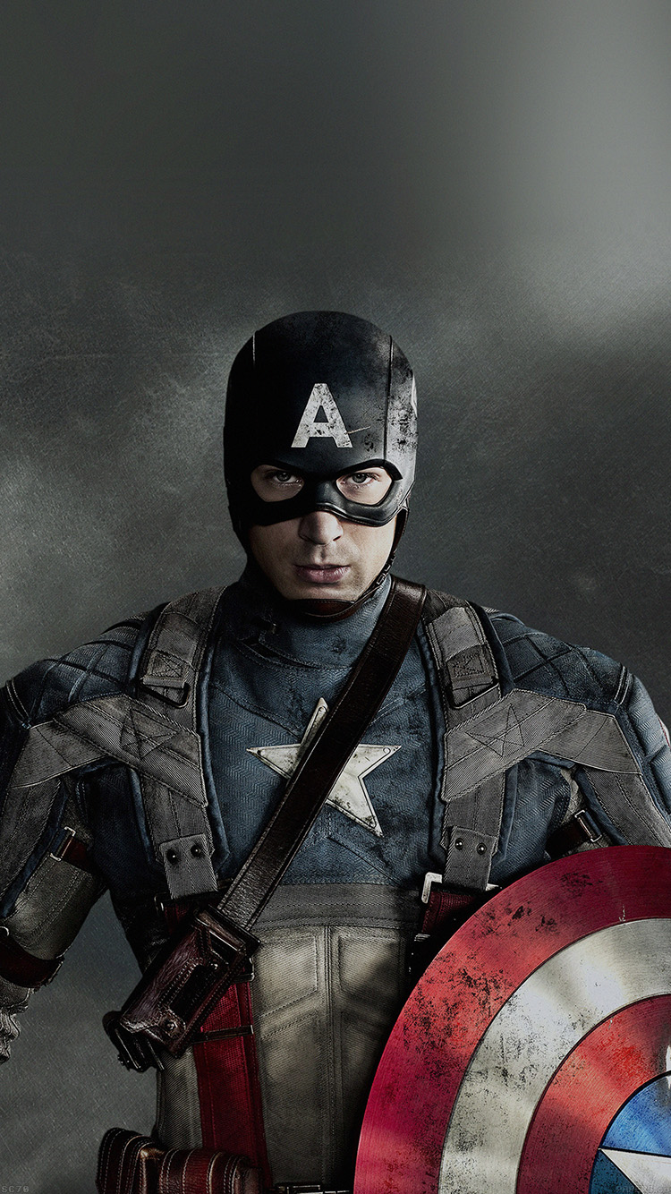 Papers.co-iPhone5-iphone6-plus-wallpaper-af63-captain-america-hero