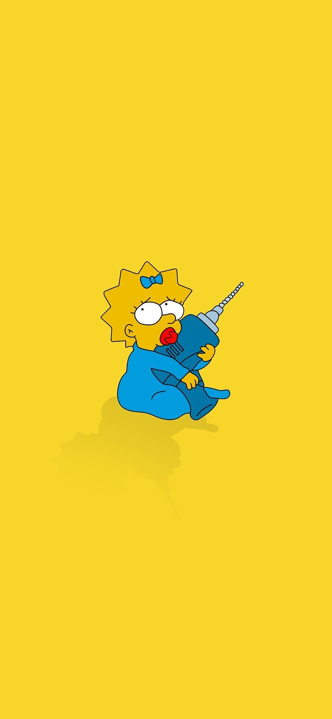 Iphone11papers Com Iphone11 Wallpaper Af69 Simpsons Maggie