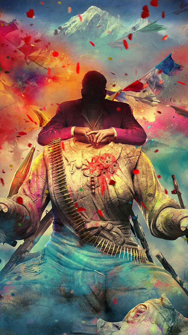 Af74 Far Cry 4 Game Art Digital