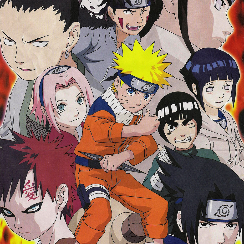 Android Wallpaper Af75 Naruto And Friends Art Game