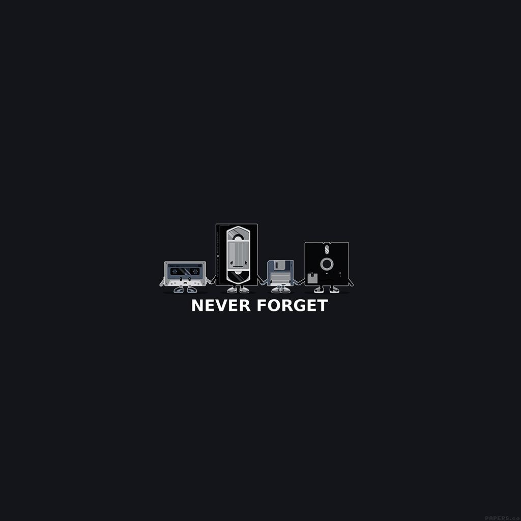 android-wallpaper-af82-never-forget-floppy-history-dark-cute-illust-wallpaper