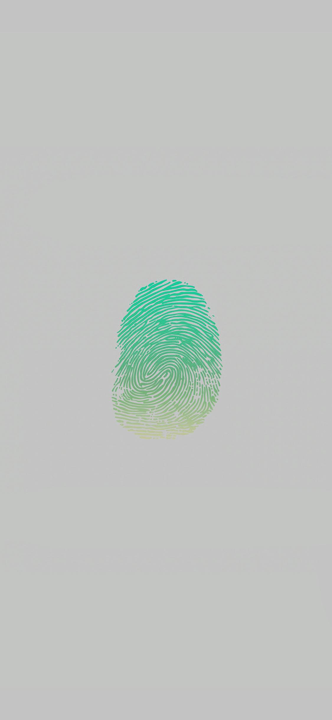 iPhoneXpapers.com-Apple-iPhone-wallpaper-af86-finger-print-unlock-green-art-illust-minimal