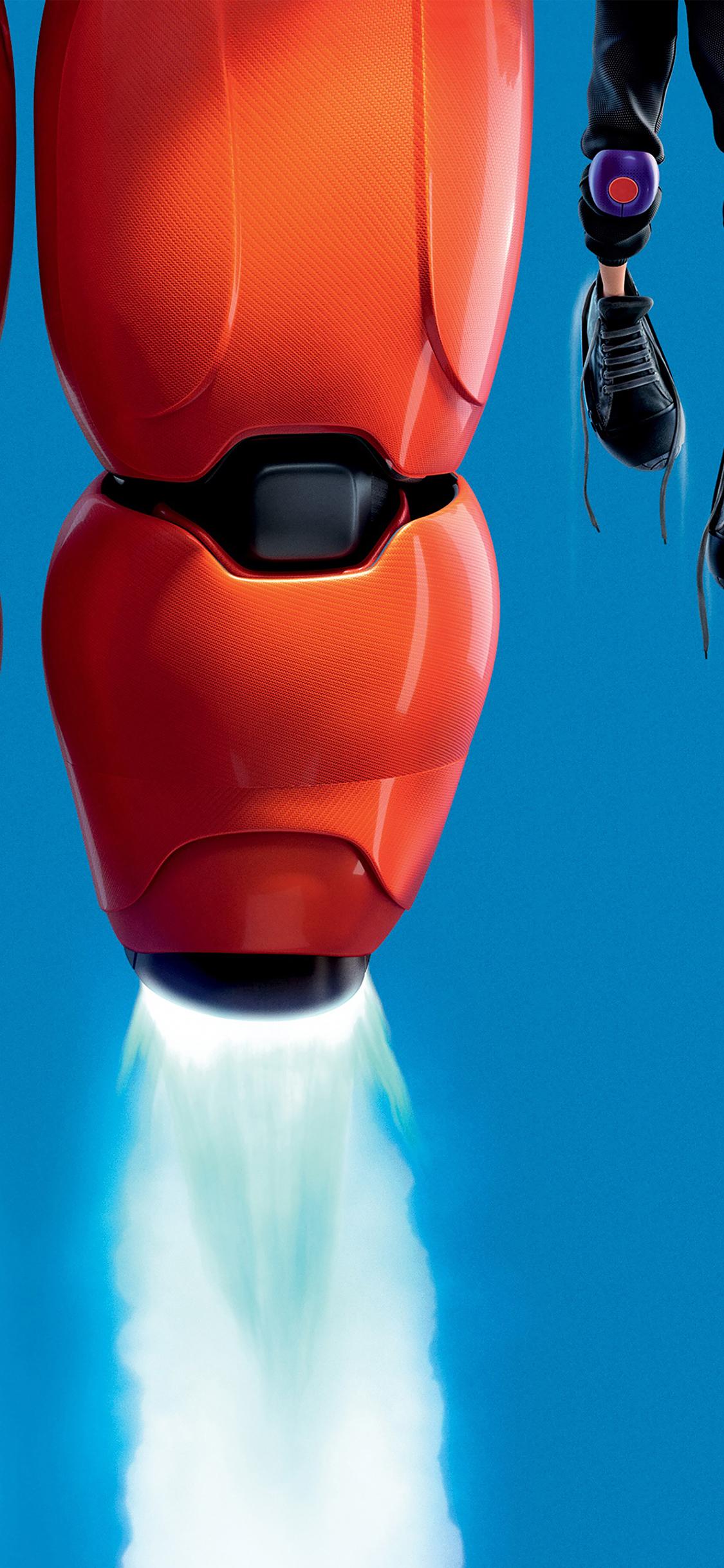 Iphonexpapers Af87 Big Hero 6 Fly Disney Art Illust