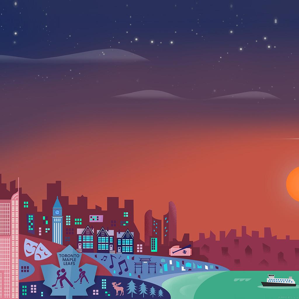 android-wallpaper-ag01-toronto-material-design-illust-art-wallpaper