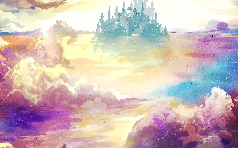 Abstract Water Painting Colors Samsung Galaxy S5 Hd: Ag06-kanehiko-fantasy-illust-watercolor-art