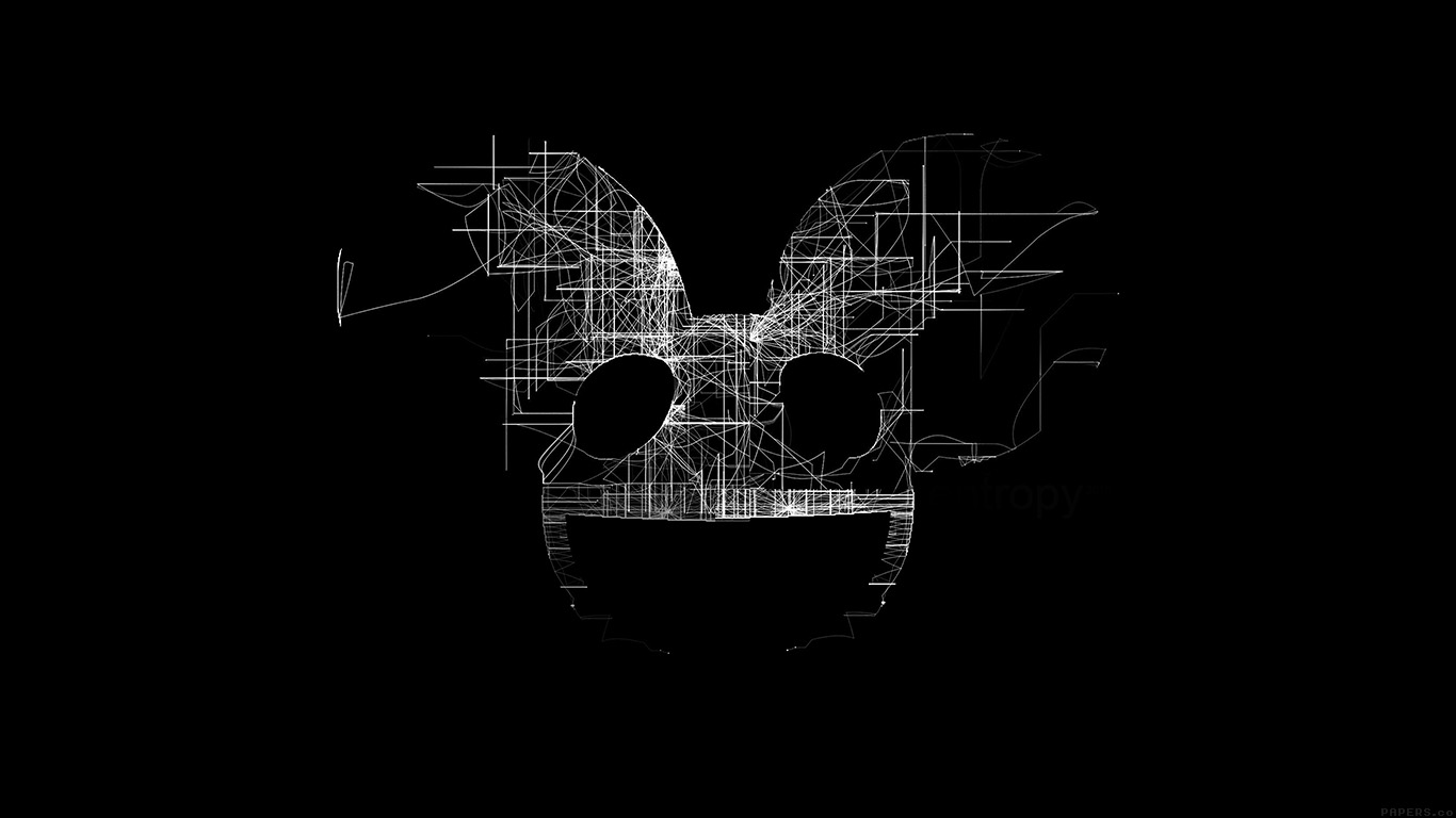 iPapers.co-Apple-iPhone-iPad-Macbook-iMac-wallpaper-ag07-deadmau5-black-logo-art-music-wallpaper