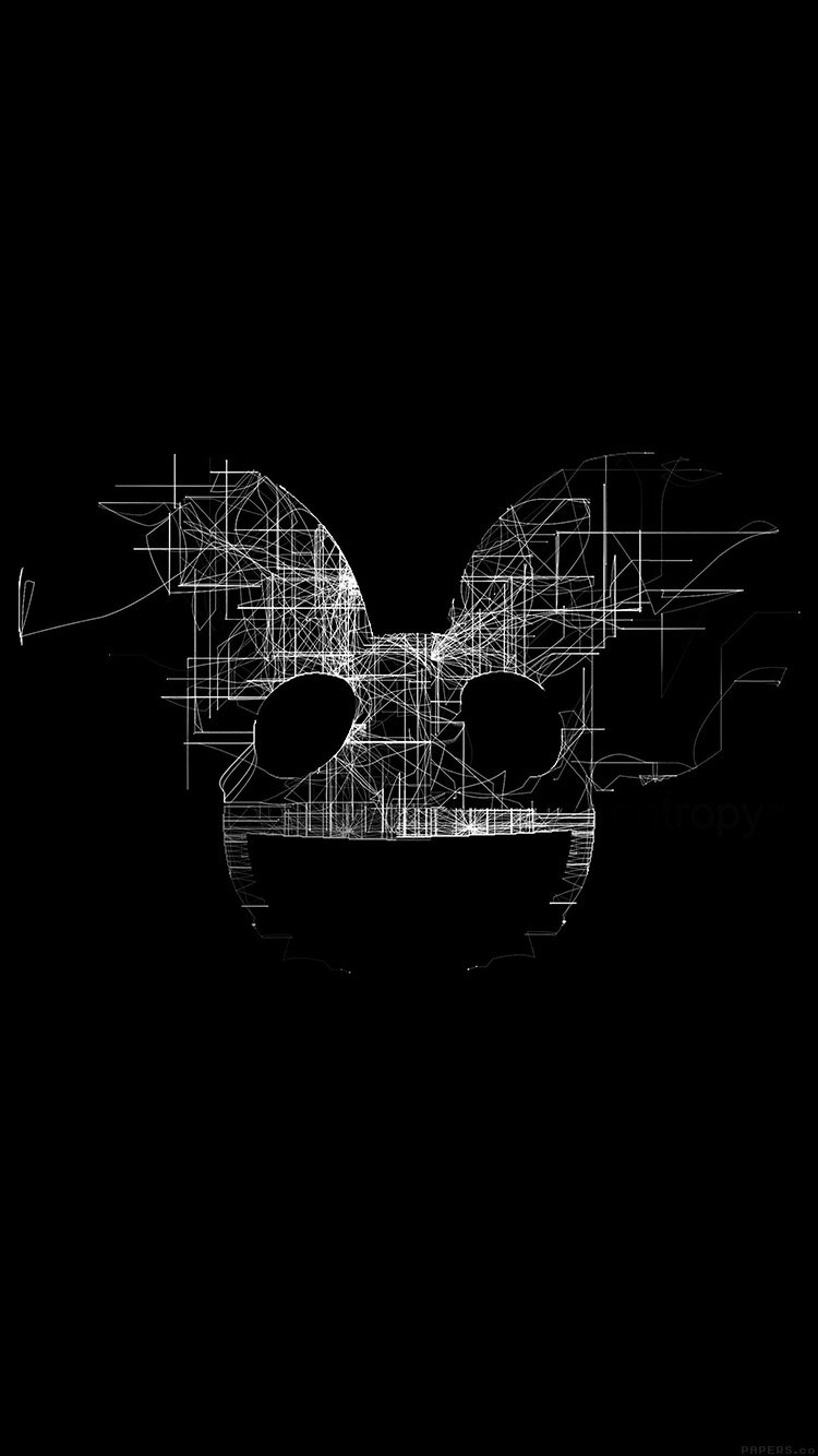 Papers.co-iPhone5-iphone6-plus-wallpaper-ag07-deadmau5-black-logo-art-music