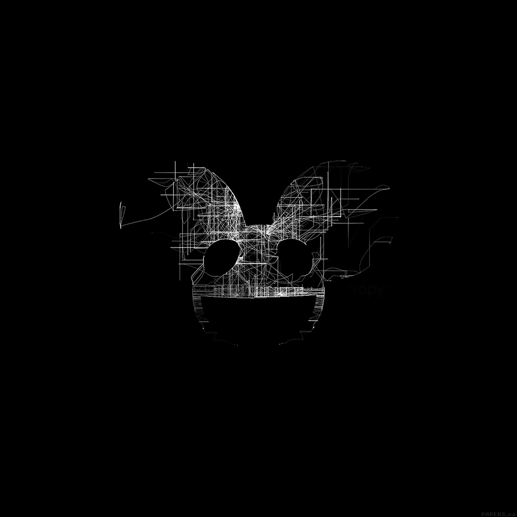 android-wallpaper-ag07-deadmau5-black-logo-art-music-wallpaper