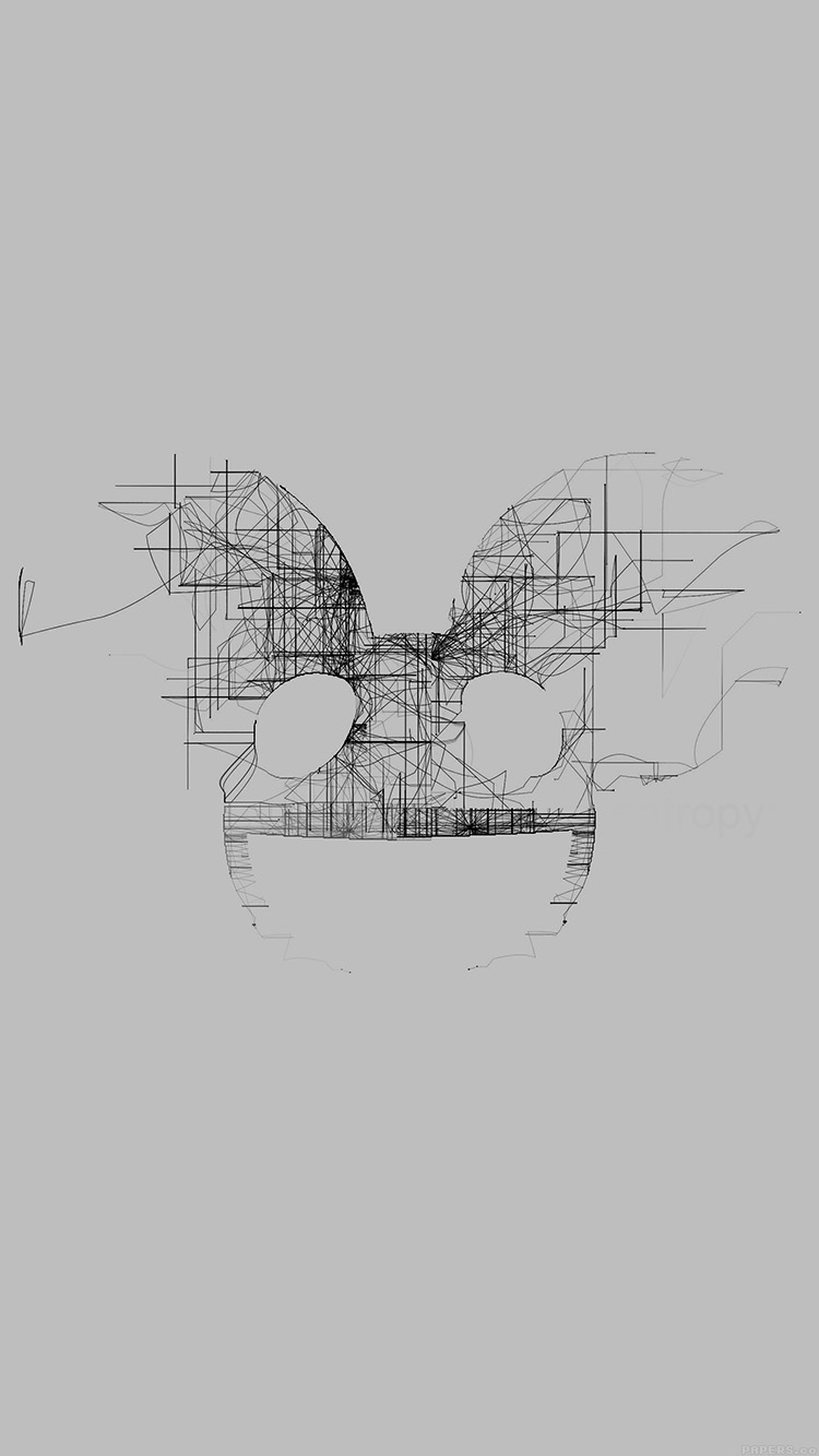 iPhone6papers.co-Apple-iPhone-6-iphone6-plus-wallpaper-ag08-deadmau5-white-logo-art-music