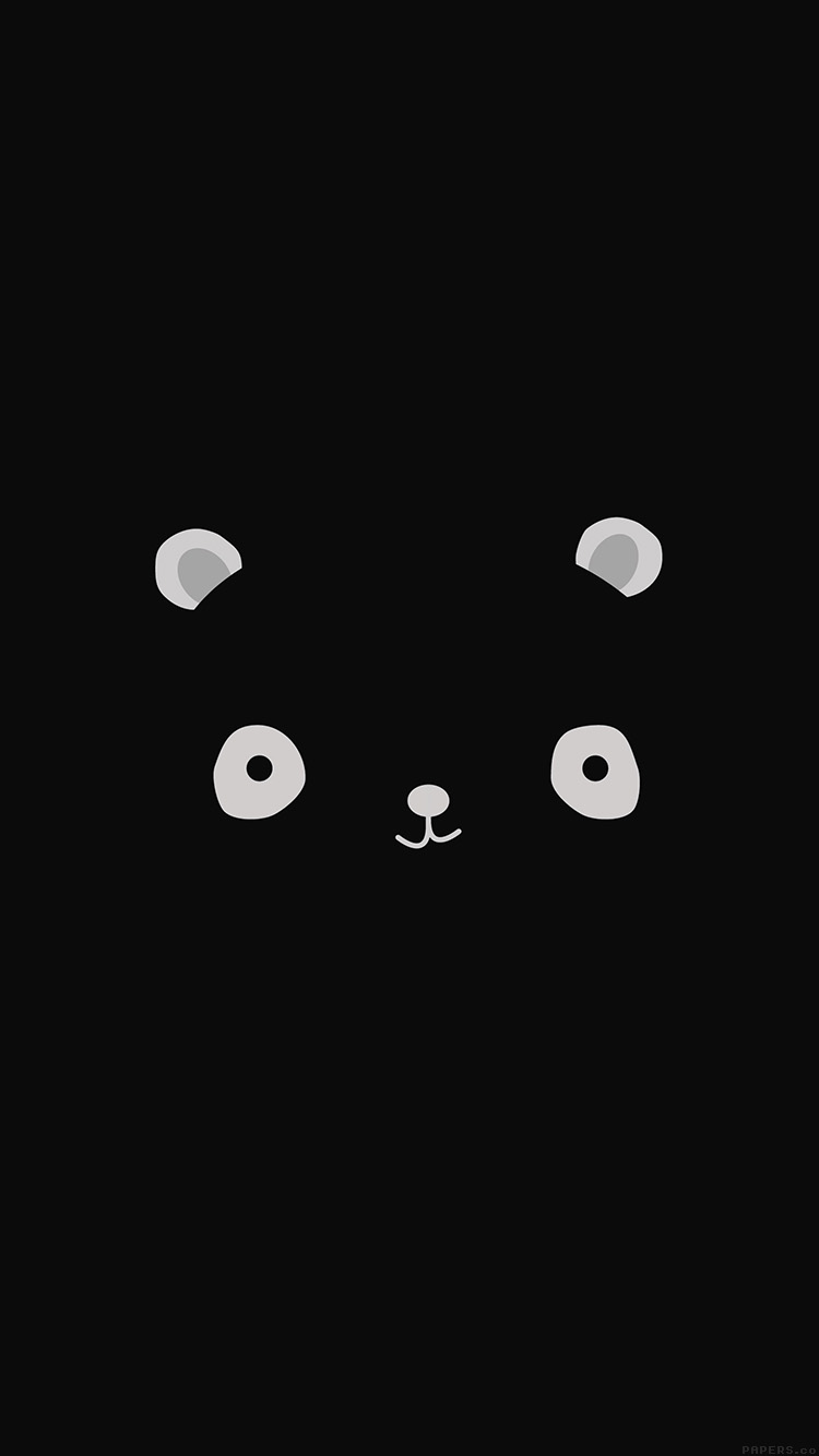 iPhonepapers.com-Apple-iPhone8-wallpaper-ag17-cute-minimal-panda-dark-illust-art