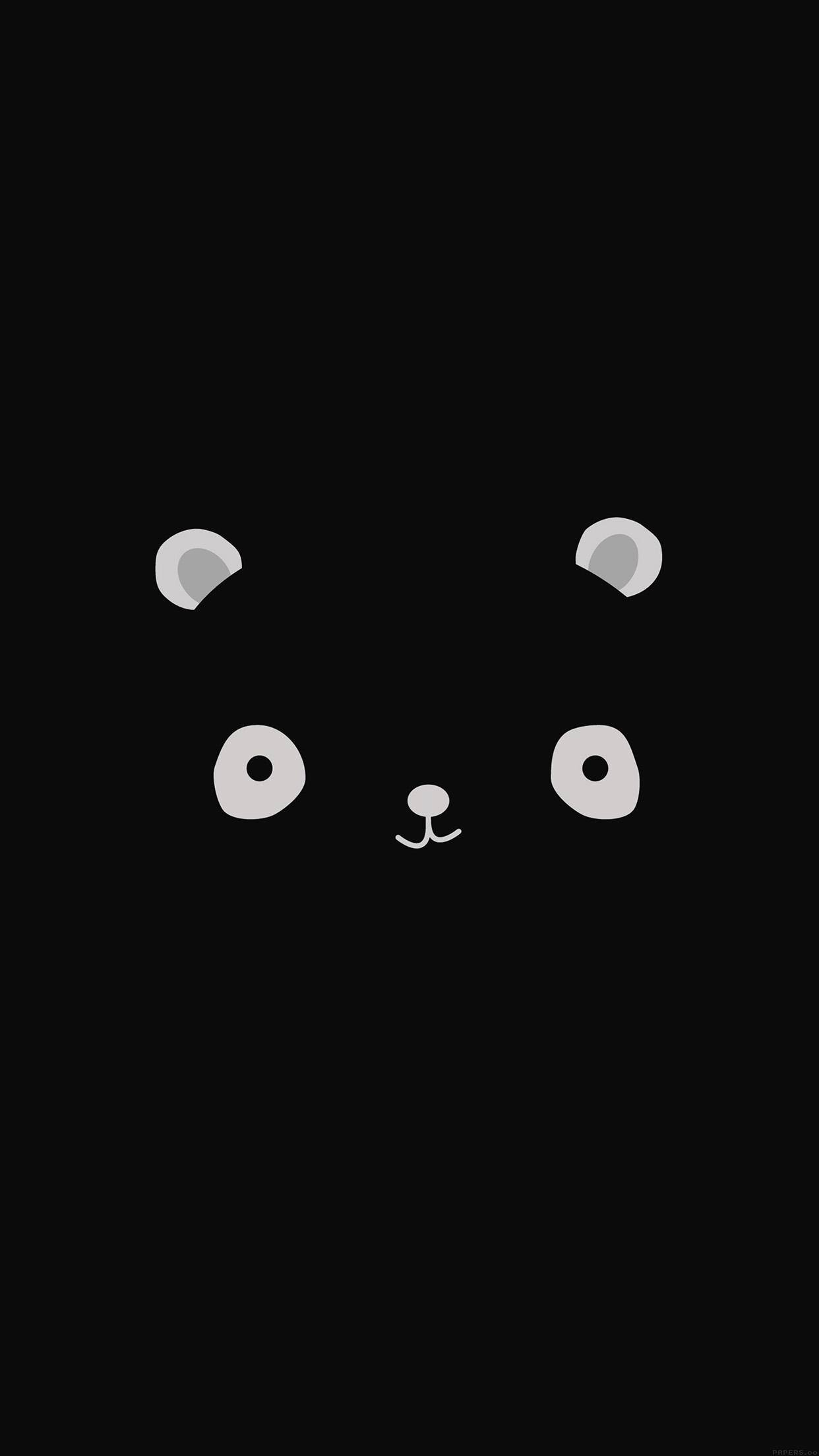 ag17-cute-minimal-panda-dark-illust-art - Papers.co