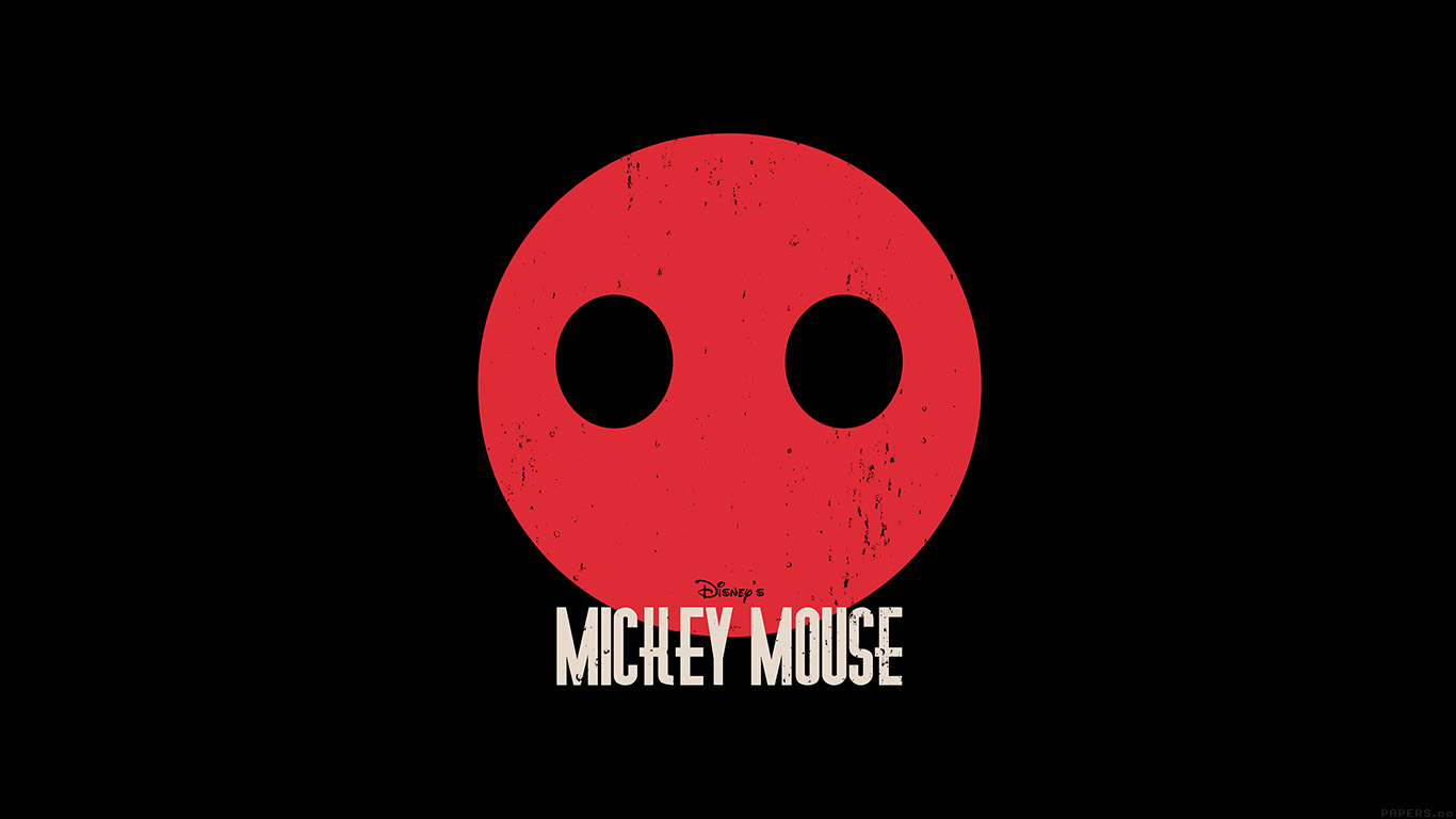 desktop-wallpaper-laptop-mac-macbook-airag22-mickey-mouse-dark-minimal-circle-disney-art-wallpaper