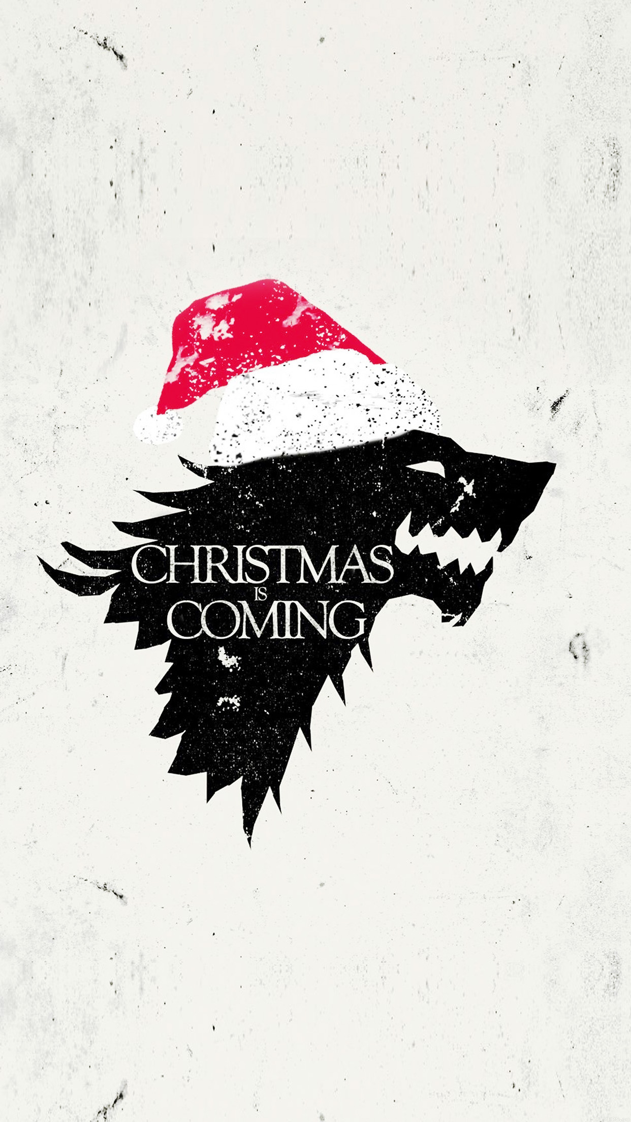 papers.co ag23 christmas is coming game of thrones art 34 iphone6 plus wallpaper