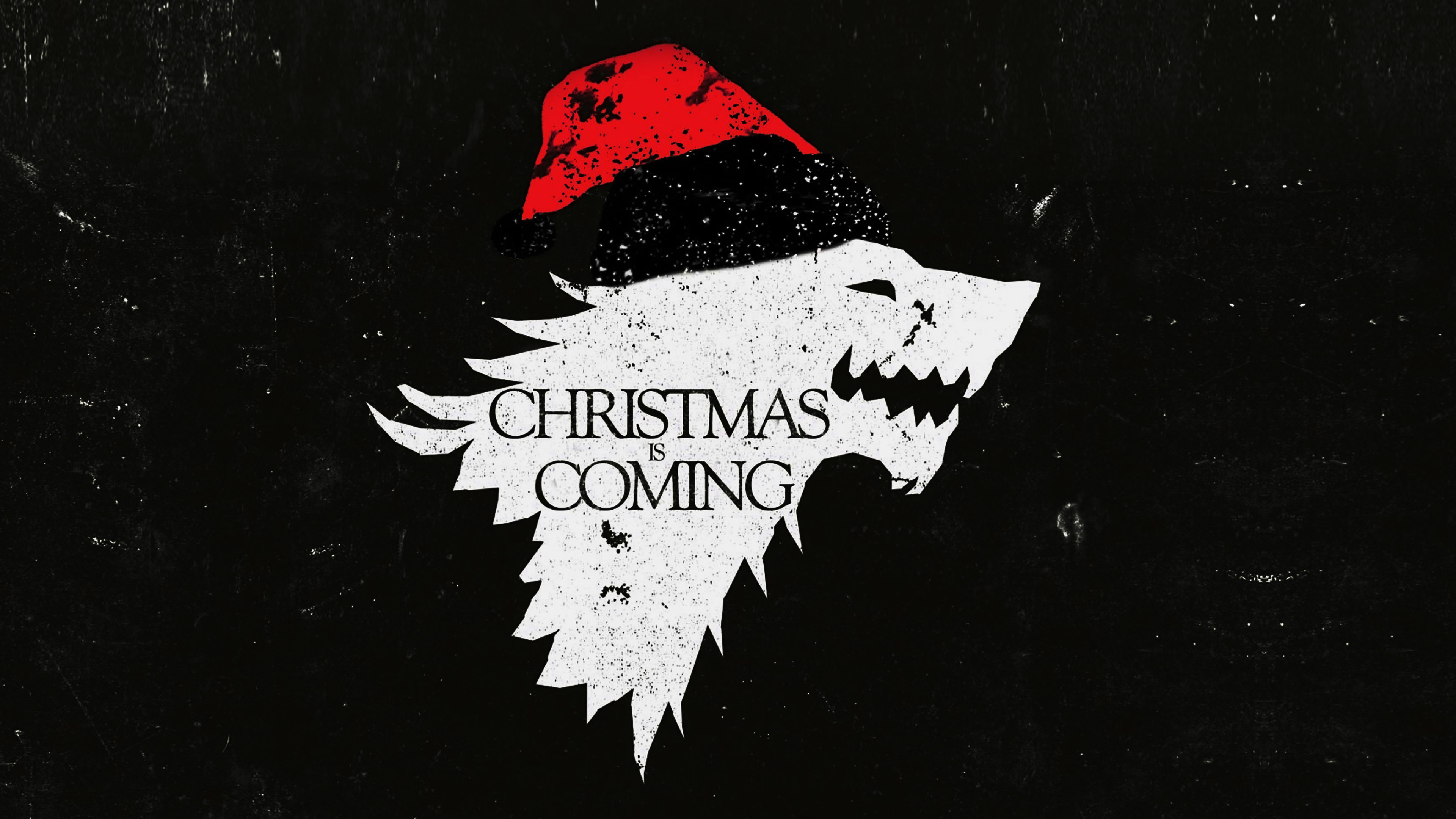Ag24 Christmas Is Coming Dark Game Of Thrones Art Wallpaper