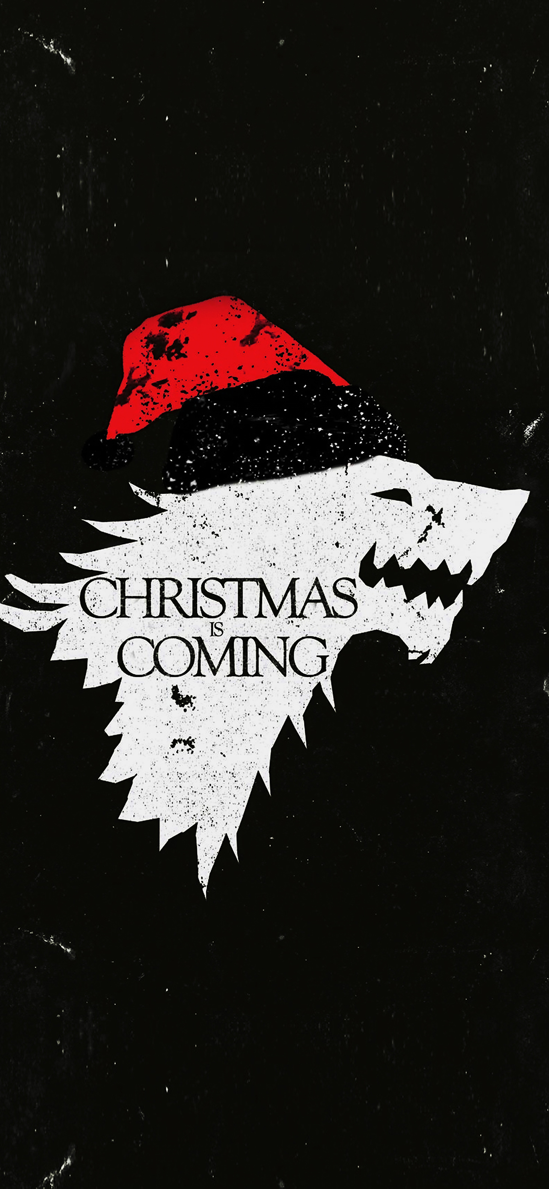 iPhoneXpapers.com-Apple-iPhone-wallpaper-ag24-christmas-is-coming-dark-game-of-thrones-art