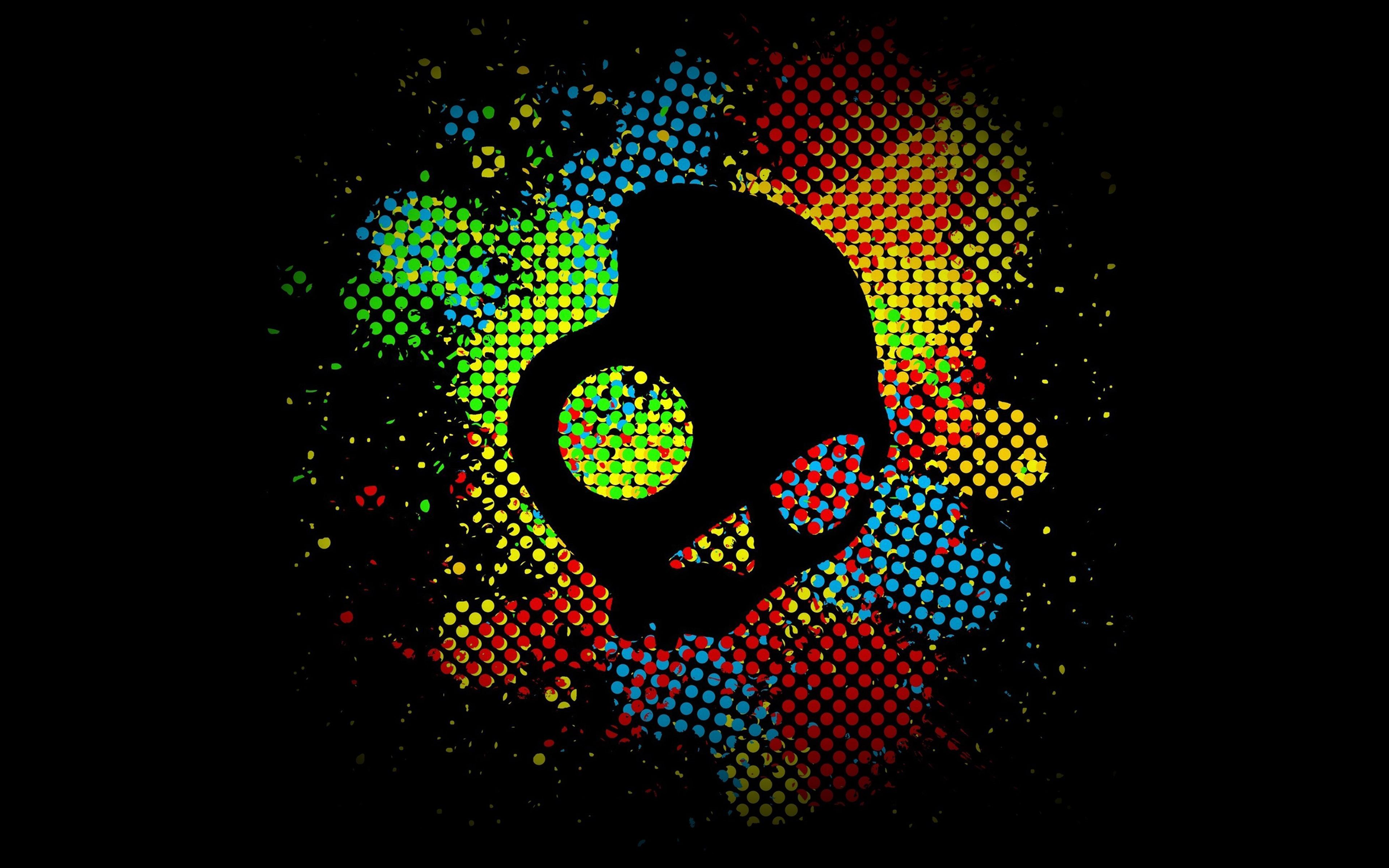 Ag28 Skull Candy Logo Dark Art Illust Papers Co
