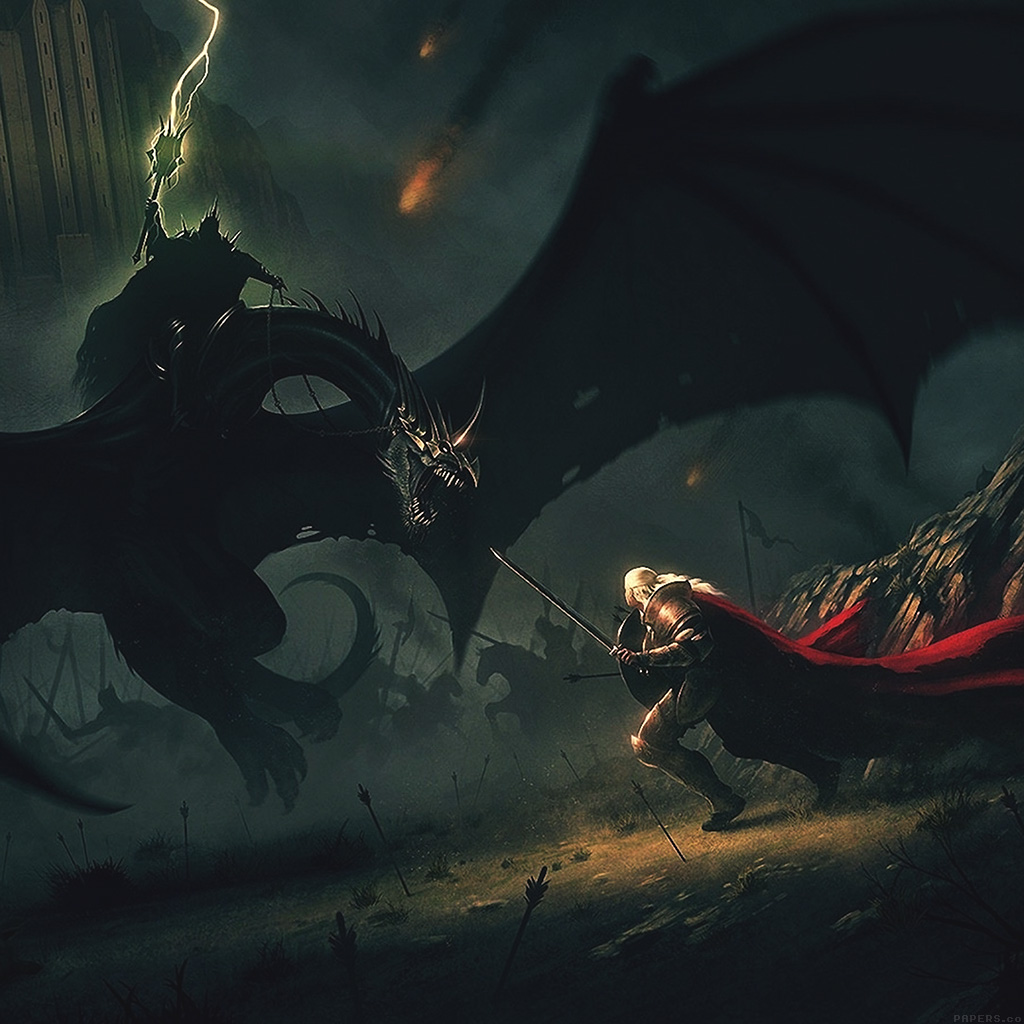 android-wallpaper-ag35-wings-dragons-boss-lord-of-the-rings-illust-art-wallpaper