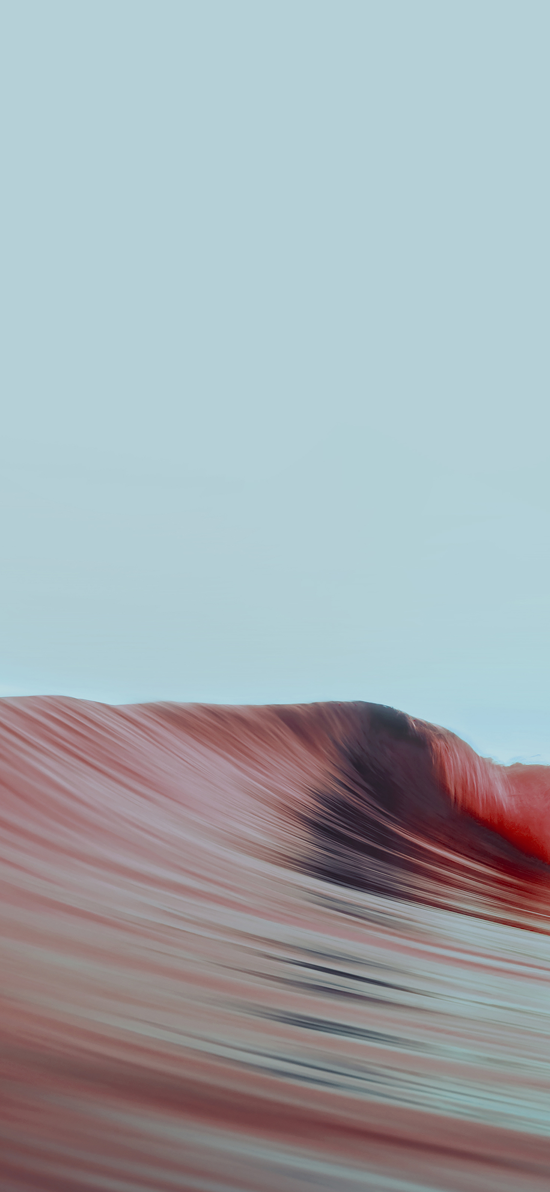 iPhoneXpapers.com-Apple-iPhone-wallpaper-ag50-rolling-wave-art-red-simple-minimal