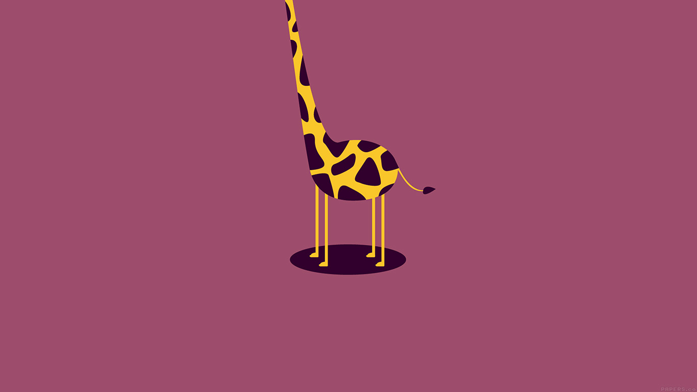 iPapers.co-Apple-iPhone-iPad-Macbook-iMac-wallpaper-ag51-giraffe-cute-minimal-simple-wallpaper